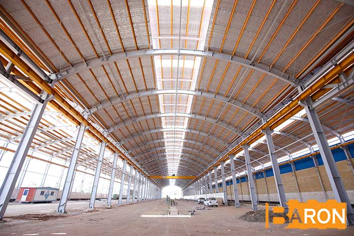 Use of advanced technical equipment to make sandwich panels