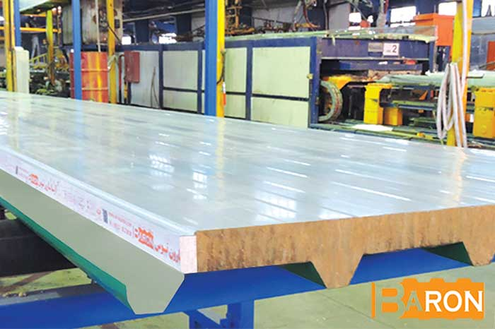 Steps of sandwich panel implementation step by step