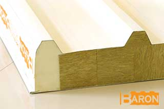 Sandwich panel substructure